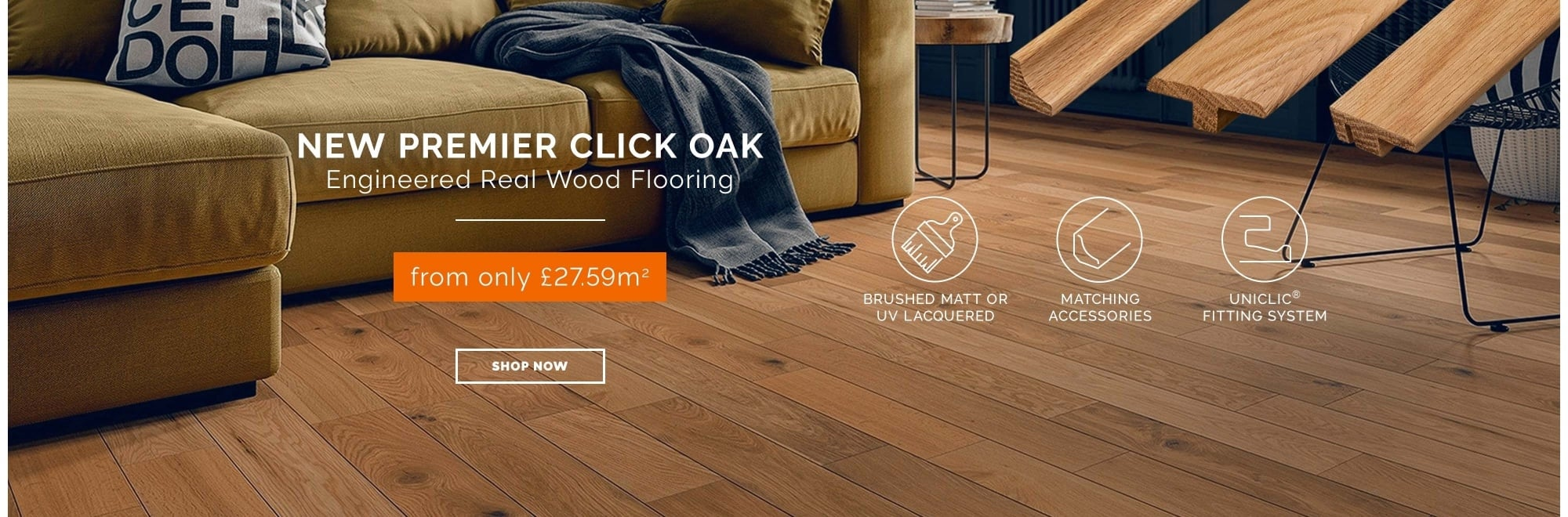 Premier Click Engineered Oak