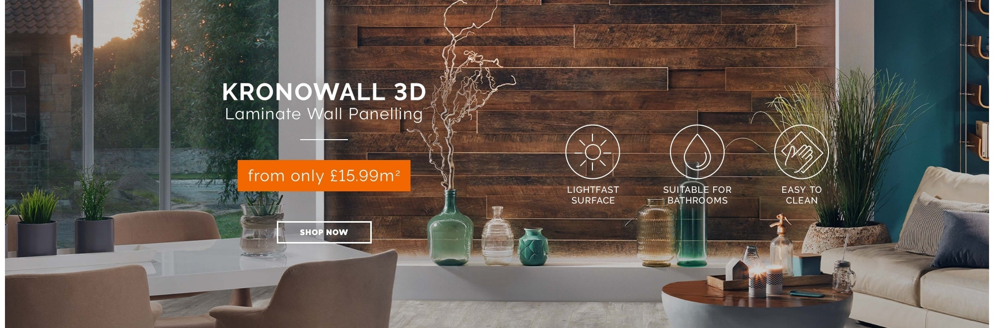 Kronowall 3D wall panelling