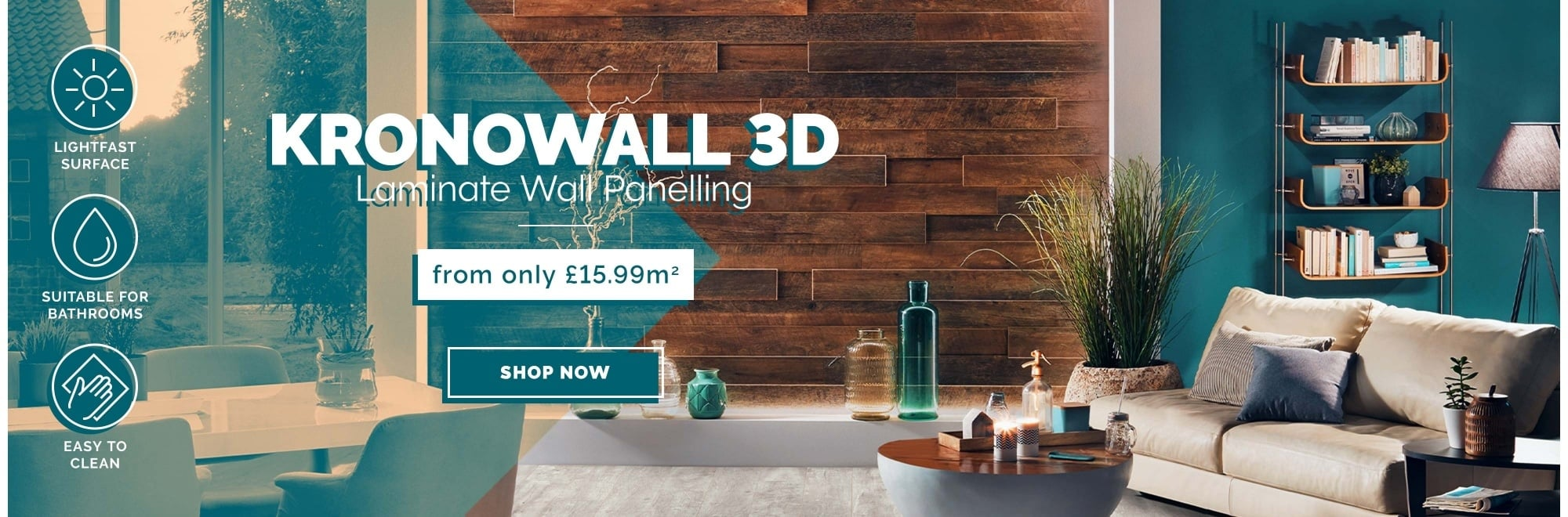 Kronowall 3D wall panelling