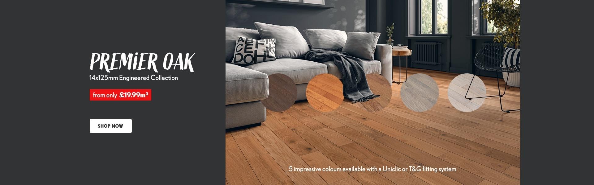 Liberty Floors Premier Colours