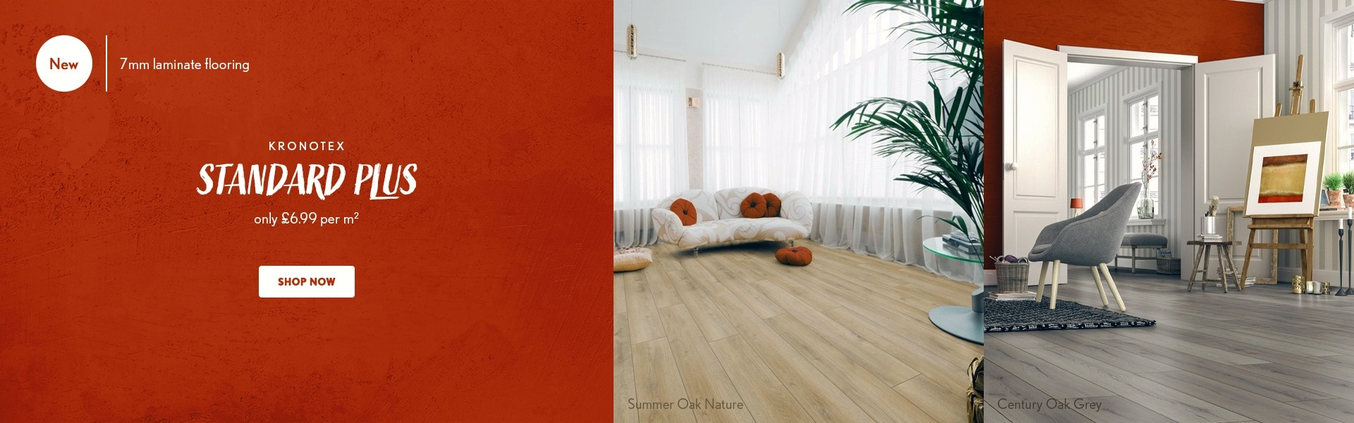 Standard Plus collection - 7mm Laminate flooring