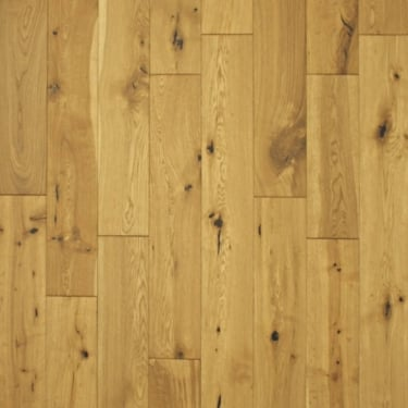 Multi-Layer 18mm x 125mm Oak Brushed & Oiled Engineered Real Wood Flooring (2875)