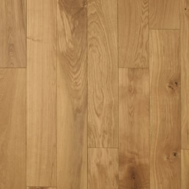 Multi-Layer 18mm x 150mm Oak Flat Oiled Engineered Real Wood Flooring (2890)