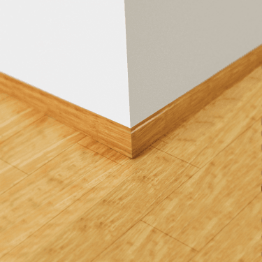 Natural Strand Woven Bamboo Skirting Board (SKIRTNAT)
