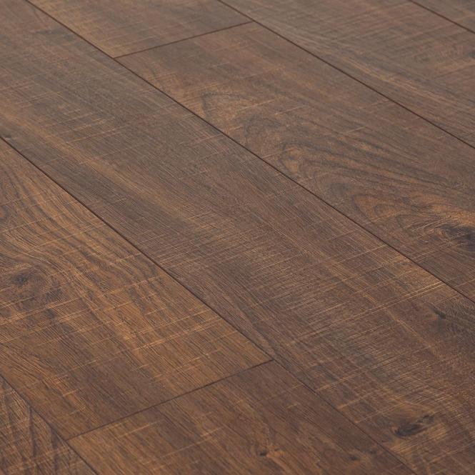 Kaindl Natural Touch Dark Oak Sawn Laminate Flooring Leader Floors