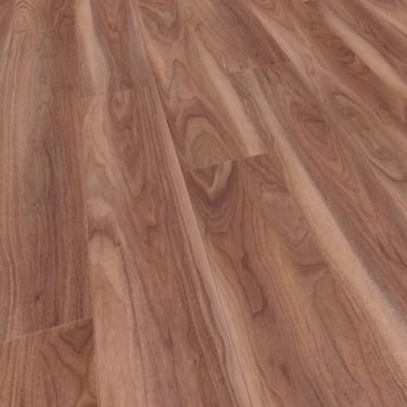 Natural Touch Narrow 10mm Varnished Walnut Laminate Flooring (7293)