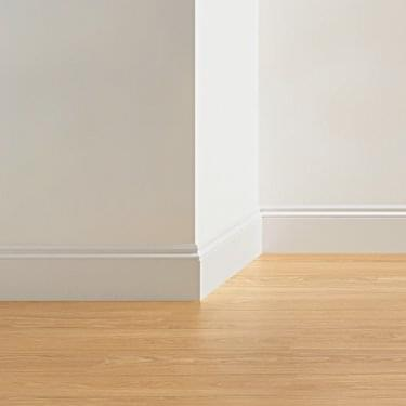 Ogee 2.4m Paintable Skirting Board for Laminate Flooring (QSISKROGEE)
