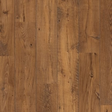 Perspective 2 Way Wide Plank 9.5mm Reclaimed Antique Chestnut Laminate Flooring (ULW1543)