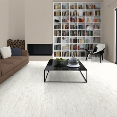 Perspective 4 Way 9.5mm Brushed White Pine Laminate Flooring (UF1235)