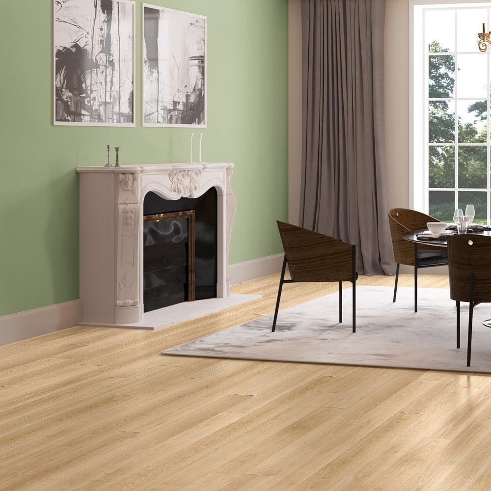 Perspective 4 Way 9 5mm Varnished Beech Laminate Flooring Uf866