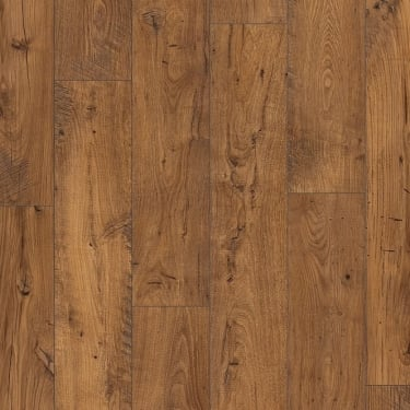 Perspective 4 Way Wide Plank 9.5mm Reclaimed Antique Chestnut Laminate Flooring (UFW1543)
