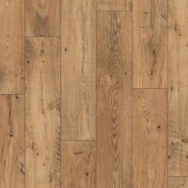 Perspective 4 Way Wide Plank 9.5mm Reclaimed Natural Chestnut Laminate Flooring (UFW1541)