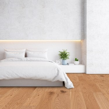 Premier 14mm x 125mm Oak UV Oiled Engineered Real Wood Flooring (LIBEOAK14125UVOIL)
