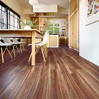 Premium Click 4.2mm Norfolk Walnut Waterproof Luxury Vinyl Flooring (314418)