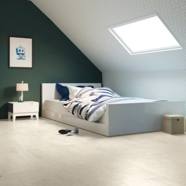 Quickstep Arte 9.5mm Light Leather Laminate Tile Flooring