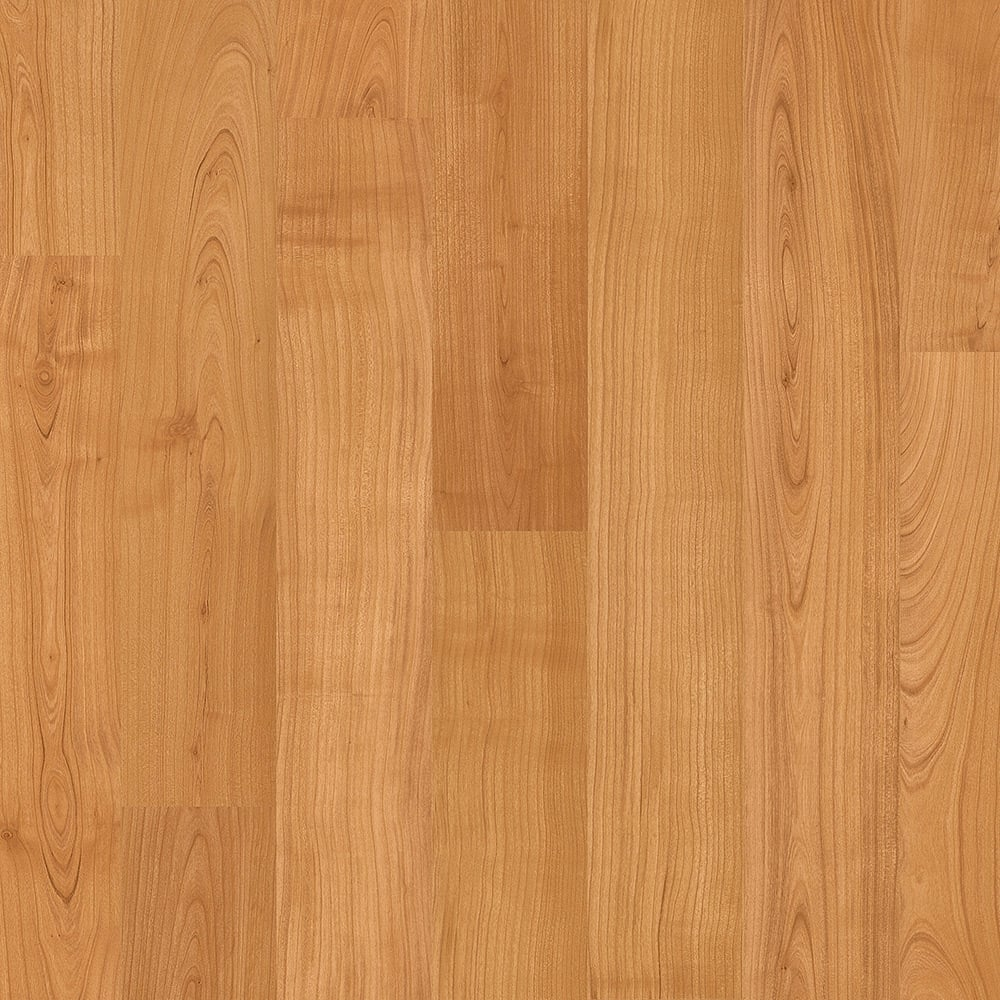 Quickstep eligna 8mm natural varnished cherry laminate for Cherry laminate flooring