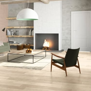 Quickstep Eligna 8mm White Varnished Oak Laminate Flooring