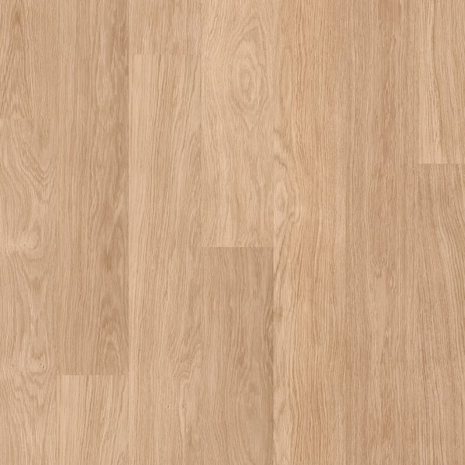 Eligna 8mm White Varnished Oak Waterproof Laminate Flooring (U915)