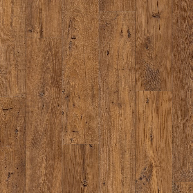 Eligna Wide 8mm Reclaimed Antique Chestnut Waterproof Laminate Flooring (UW1543)