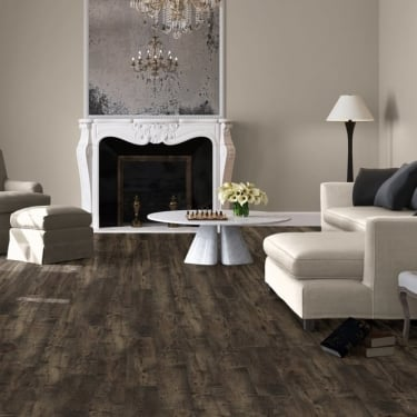 Quickstep Eligna Wide 8mm Reclaimed Brown Chestnut Laminate Flooring