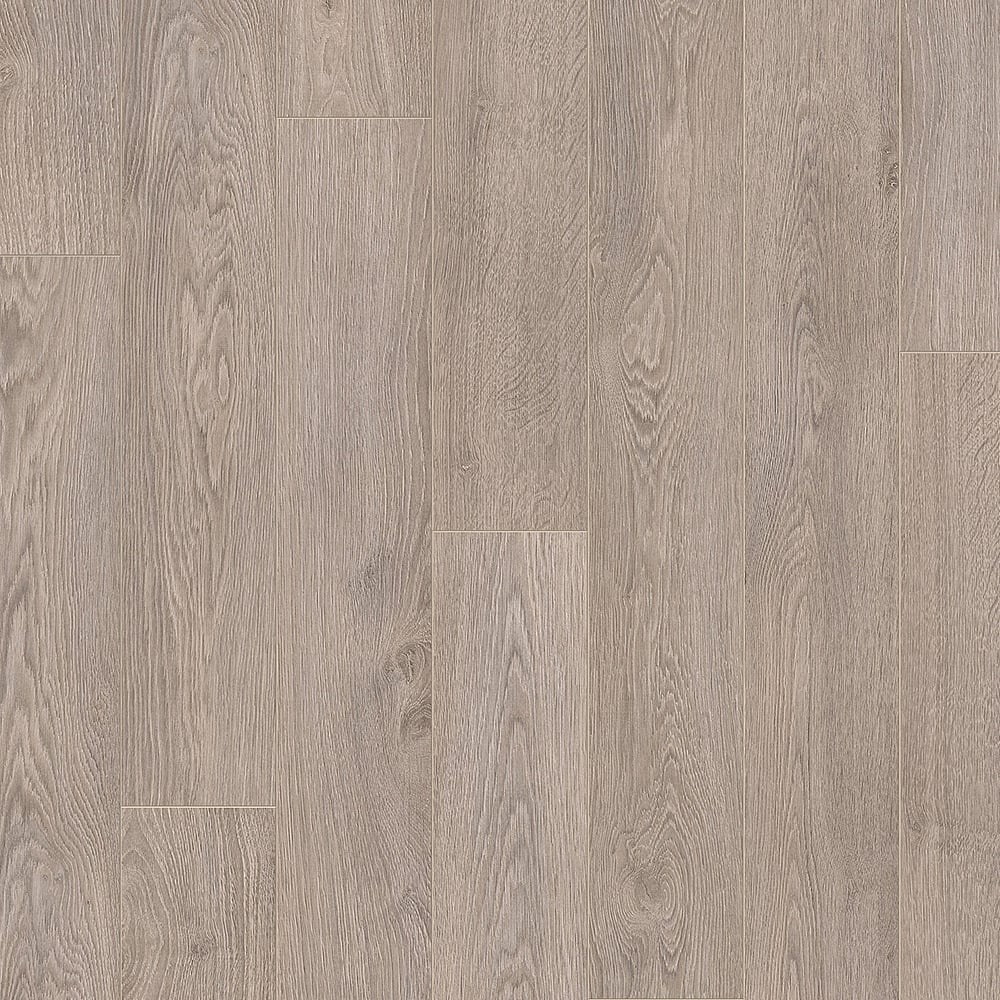 Quickstep elite 8mm old oak light grey laminate flooring for Lightweight flooring