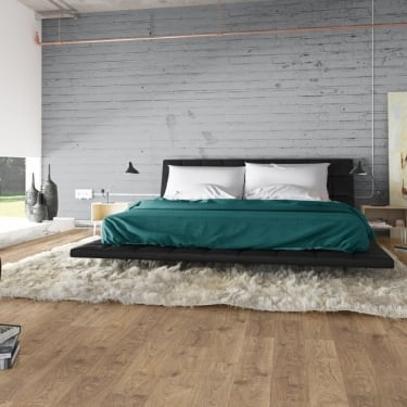 Quickstep Elite 8mm White Medium Oak Laminate Flooring
