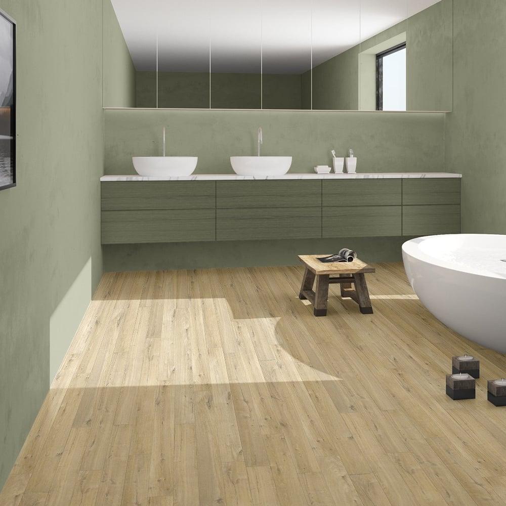 Quickstep impressive 8mm soft natural oak laminate for Quickstep flooring uk