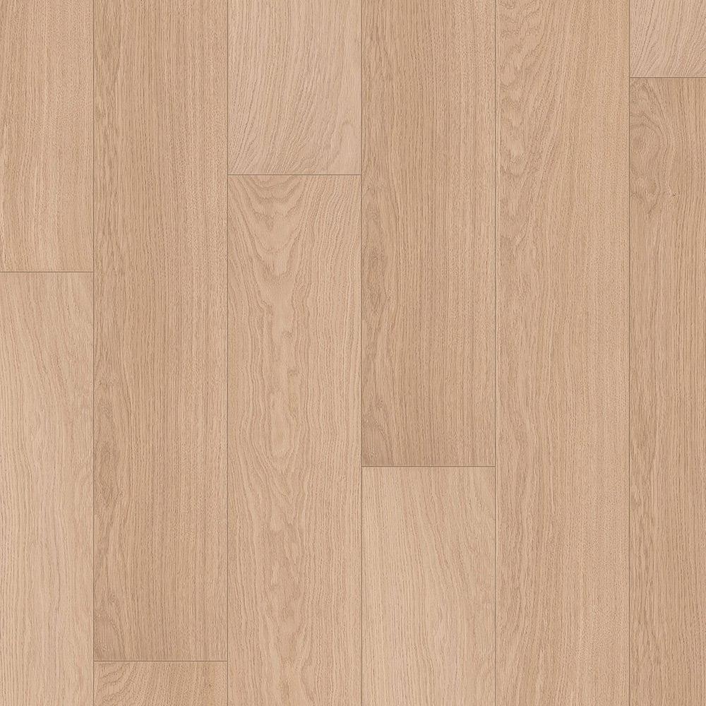 Quickstep Impressive White Varnished Oak Laminate Flooring