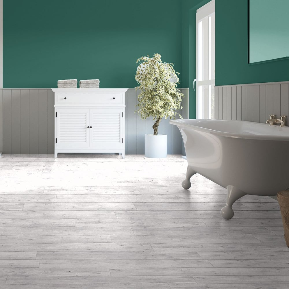 Quickstep impressive ultra 12mm concrete wood light grey for Light grey laminate wood flooring