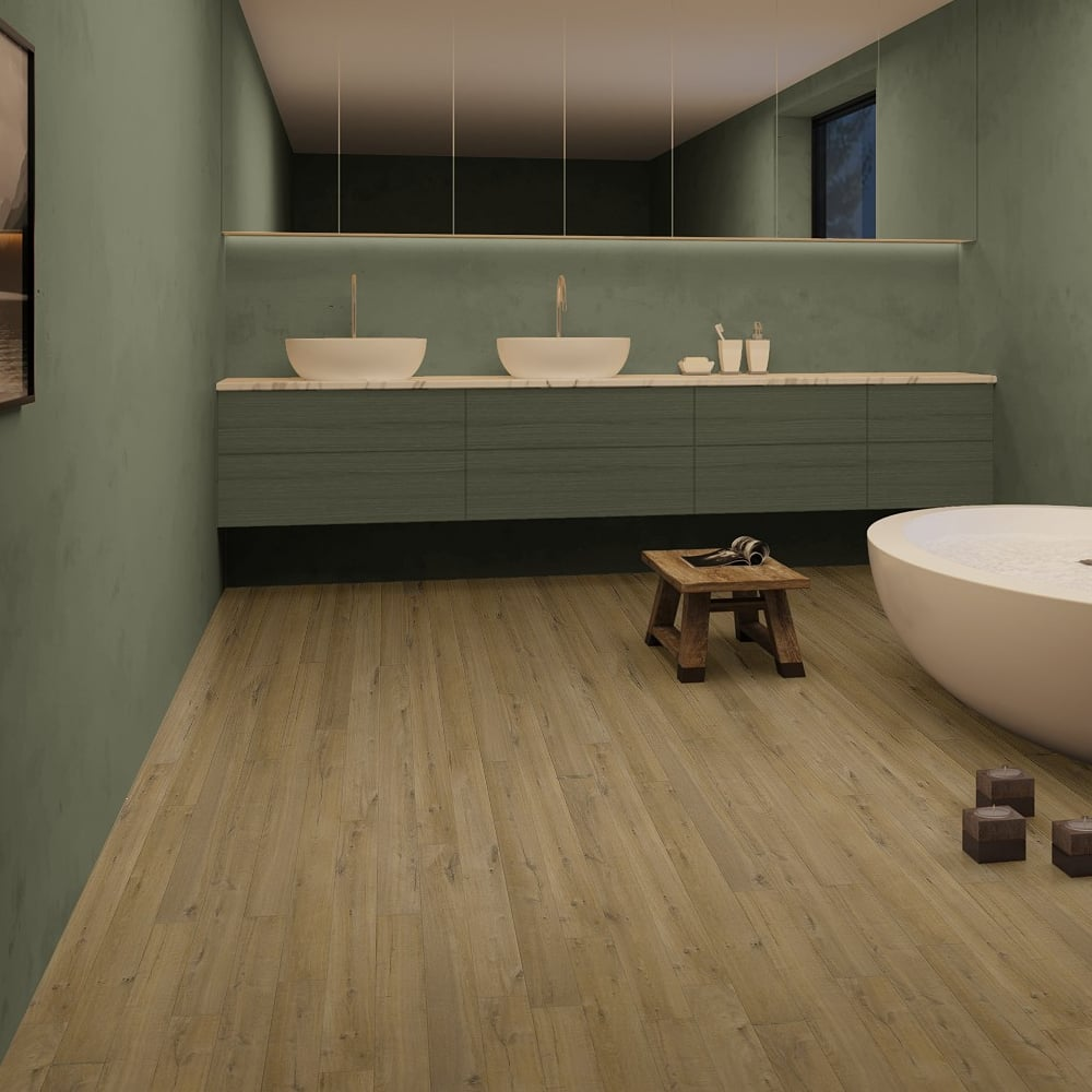Quickstep impressive ultra 12mm soft natural oak laminate for Soft laminate flooring