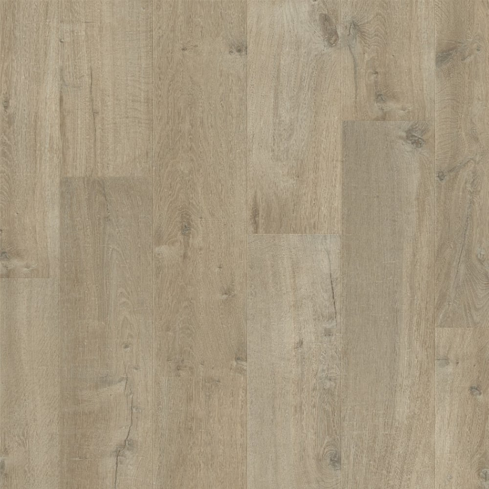 Quickstep impressive ultra 12mm soft oak light brown for Soft laminate flooring