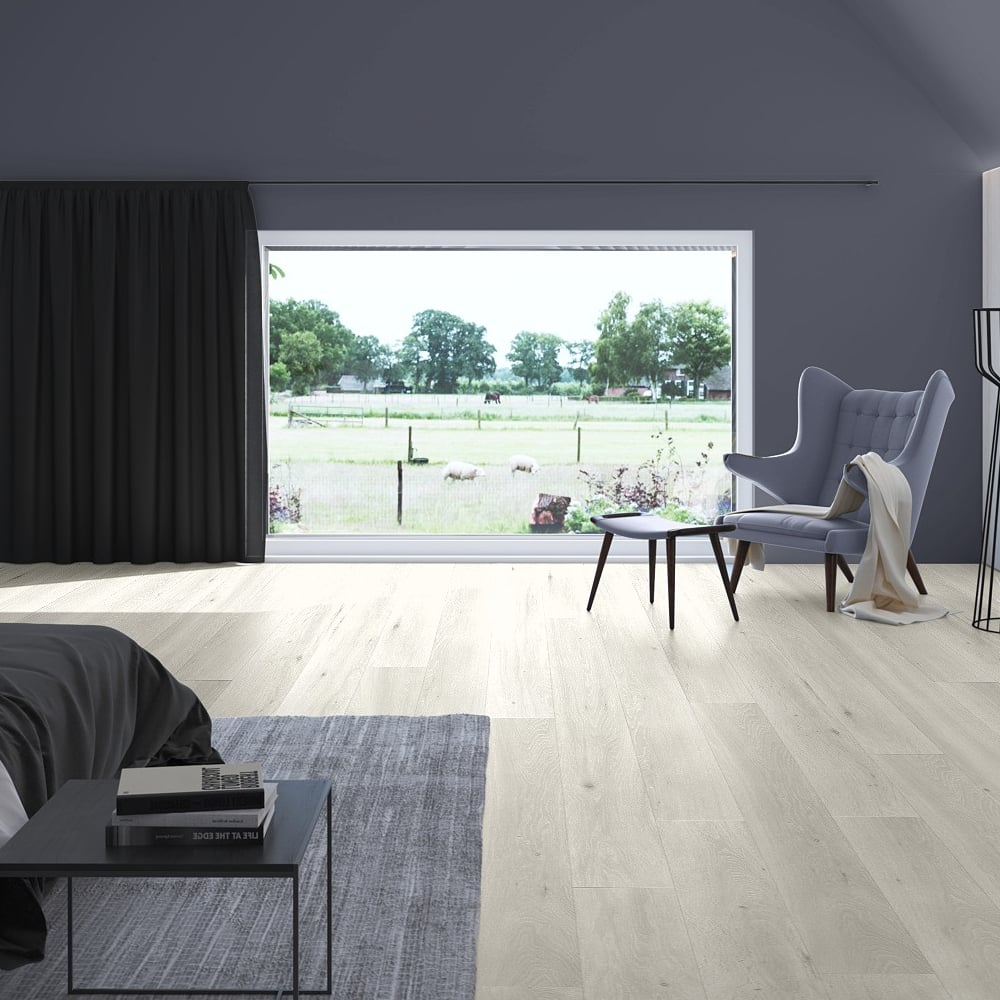 ... Quickstep Largo 9.5mm Long Island Light Oak Laminate Flooring ...