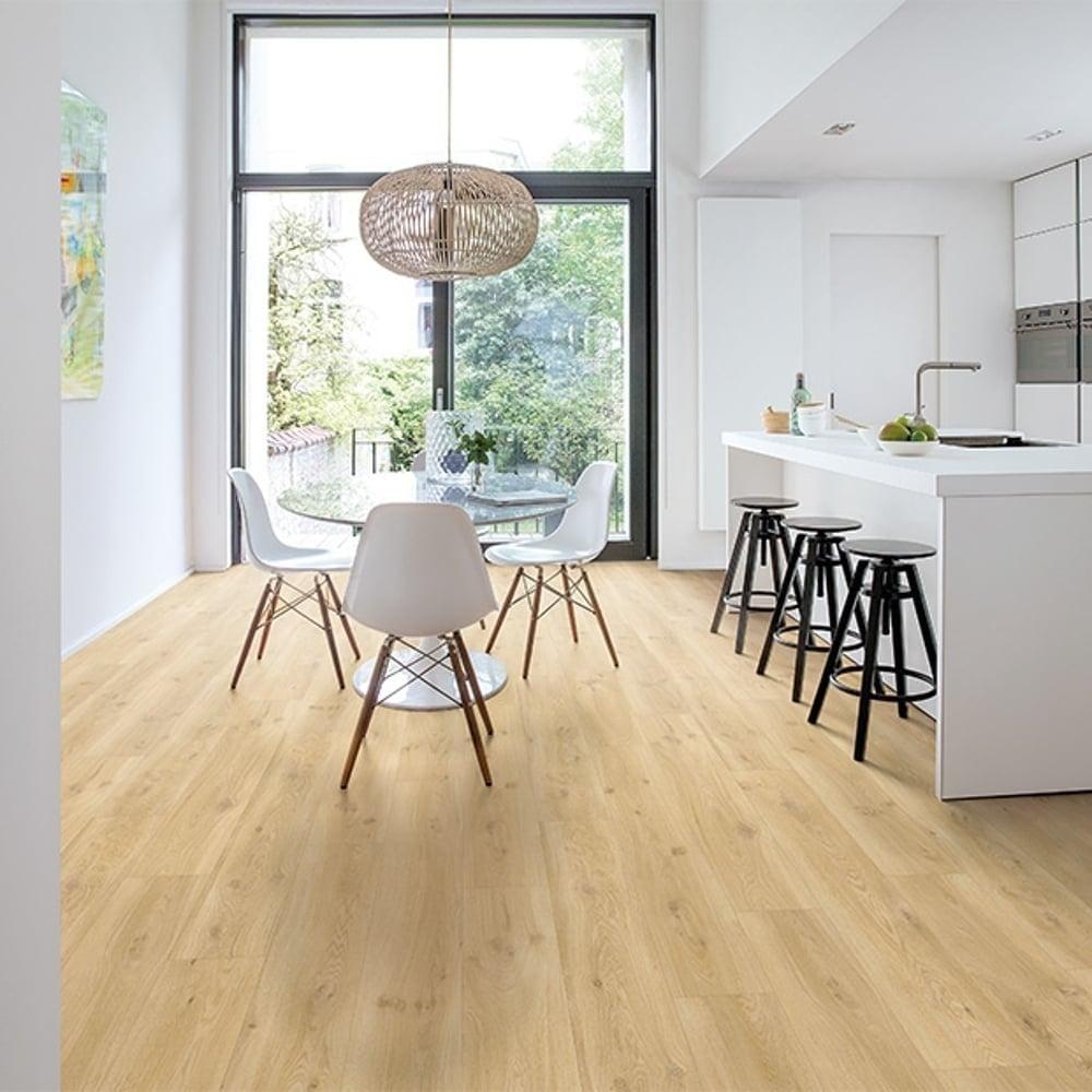 quickstep livyn balance click drift oak beige vinyl flooring leader floors. Black Bedroom Furniture Sets. Home Design Ideas