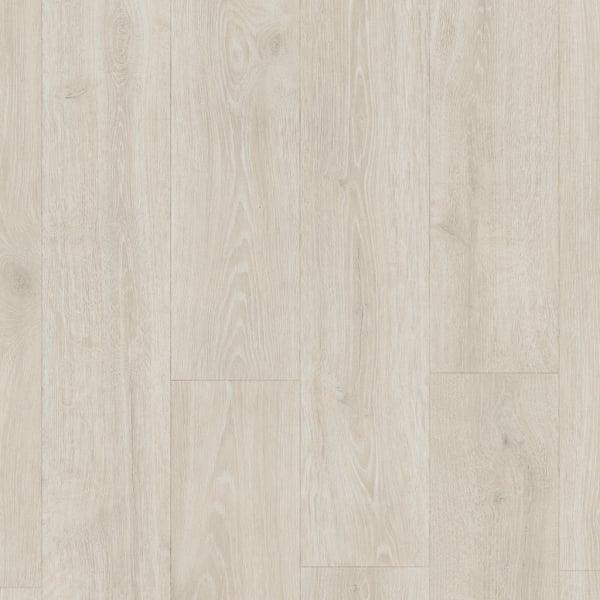 Quickstep majestic woodland light grey oak laminate for Light grey laminate wood flooring