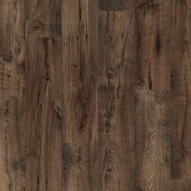 Perspective 2 Way Wide 9.5mm Reclaimed Brown Chestnut Laminate Flooring
