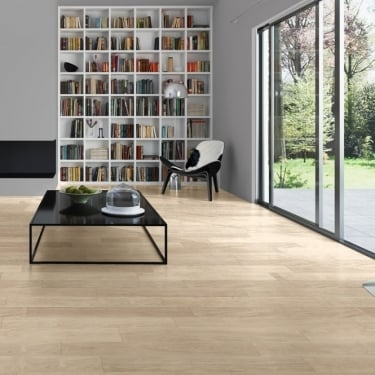 Quickstep Perspective 4 Way 9.5mm White Varnished Oak Laminate Flooring