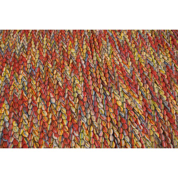 Real Rug Trasmatta Cotton Multicoloured Rectangular Modern