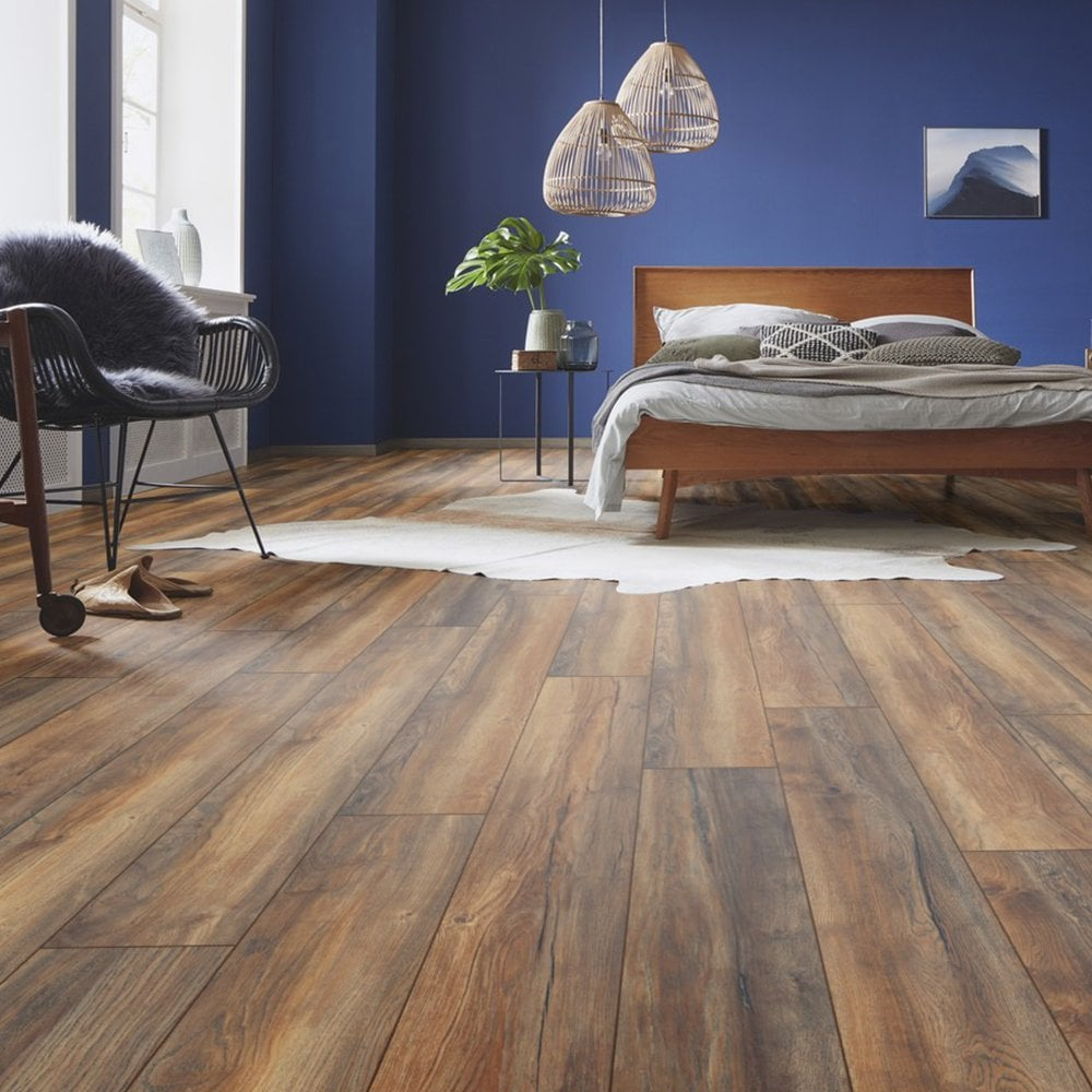 Kronotex Robusto Villa 12mm Harbour Oak, Villa Laminate Flooring