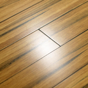 Rustic 14mm x 125mm Natural Strand Woven Bamboo PPG Coated Solid Wood Flooring (NSWB-14x125-PPG)