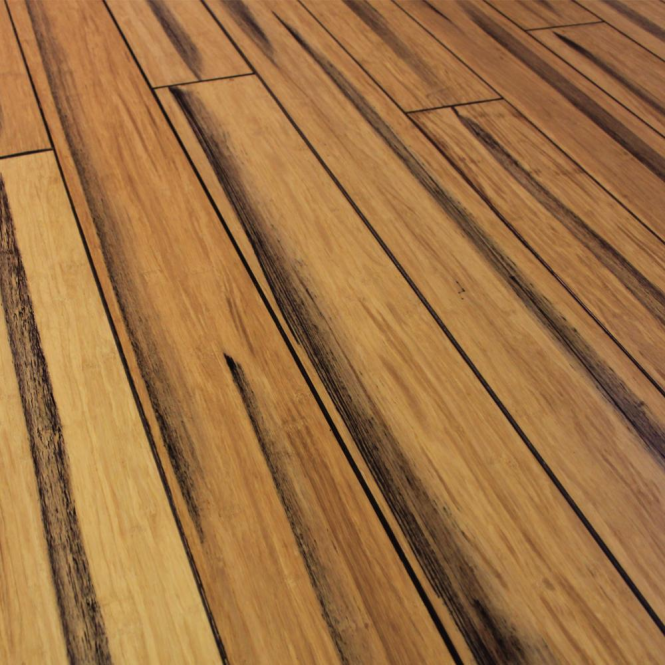 Wood Plus Rustic 14x125mm Natural Strand Woven Solid Bamboo Flooring