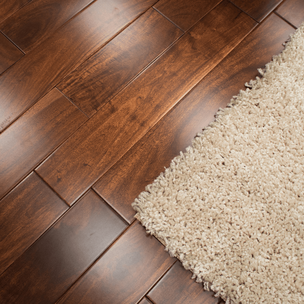 Solid Walnut Flooring: Stained & Lacquered 18x123mm Solid Asian Walnut Flooring