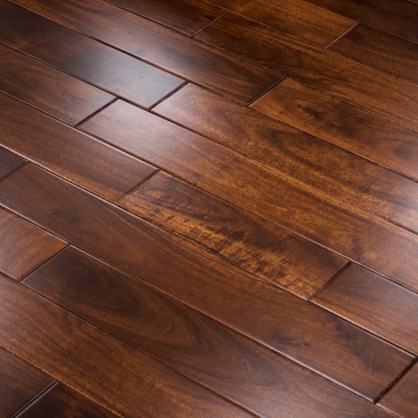 Solid Walnut Flooring: Stained & Lacquered 18x75mm Solid Asian Walnut Flooring