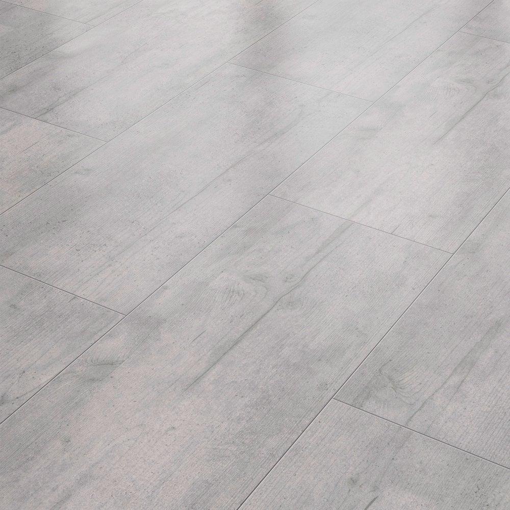 Stellato 8mm Concrete Stone Grey Tile Laminate Flooring 35460