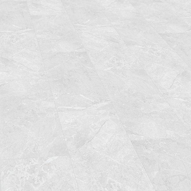 Liberty Floors Stellato 8mm White, White Tile Laminate Flooring