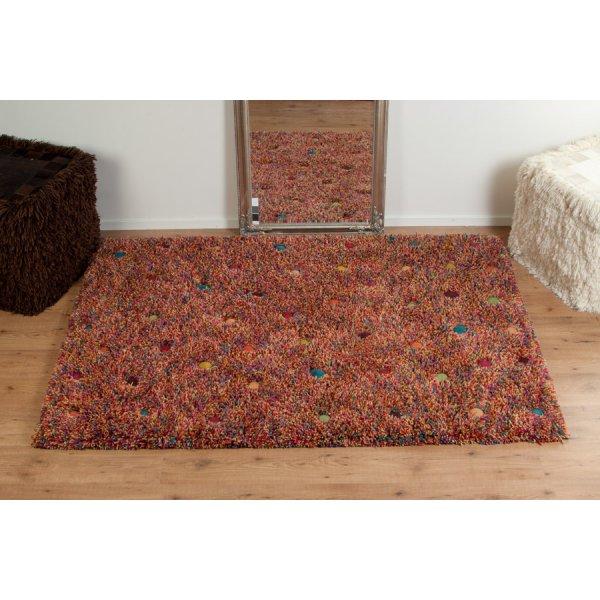 Real Rug Stone Garden Wool Multicoloured Rectangular
