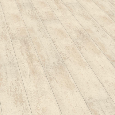 Supergloss Extra Sensitive 8.7mm Antique White High Gloss Laminate Flooring (772301)