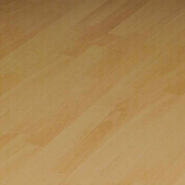 Laminate Flooring Beech: Elesgo Supergloss Flat Edge Strip Beech 7mm AC3 Laminate