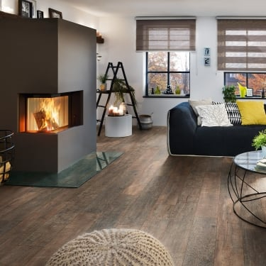 Supernatural Classic 8mm Rusty Barnwood Laminate Flooring (K061)