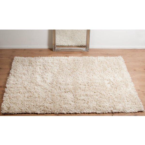 Real Rug Tentakel Wool White Rectangular Modern Rug