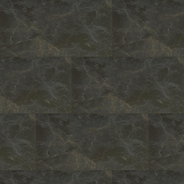 Touch DB 3mm Midnight Marble MicroCeramic Waterproof Tile Luxury Vinyl Flooring (AT-605DB)